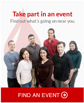 Take apart in an event. Find out whats going on near you. Find an event.