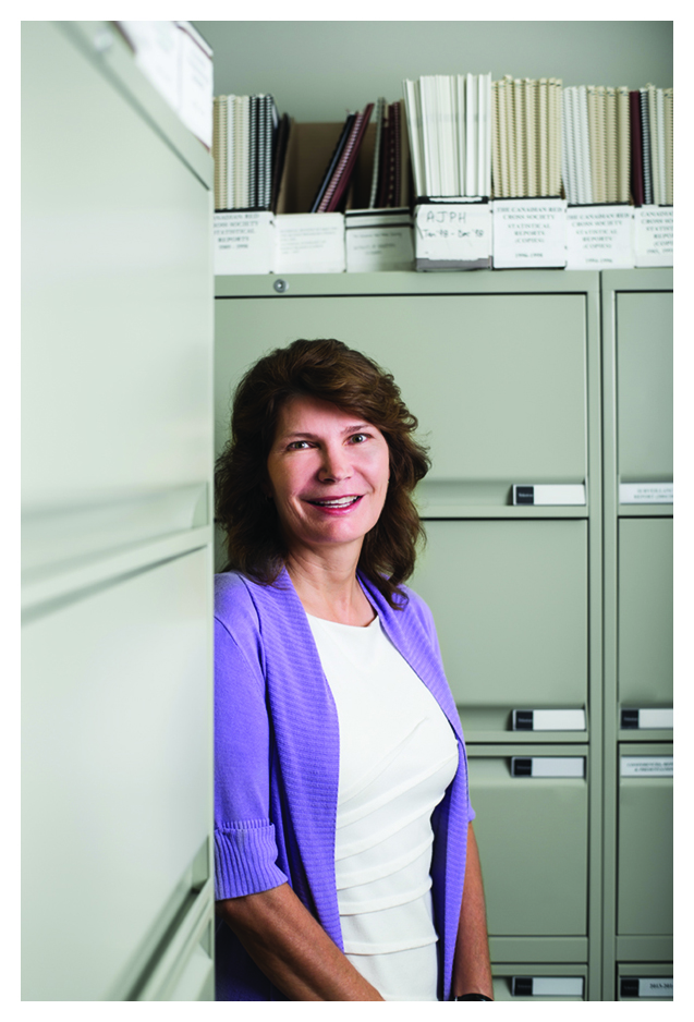 Associate Director, Epidemiology and Surveillance, Sheila O'Brien, Canadian Blood Services
