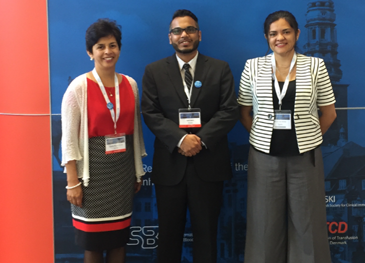 Dr. Ramirez (left), Dr. Qadri, and Dr. Loza