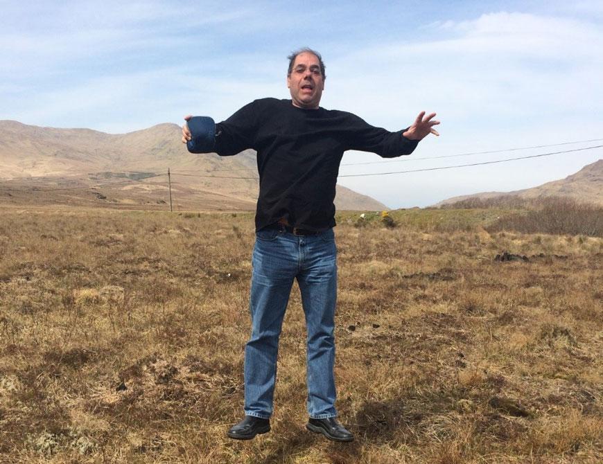 Dr. Alan Lazarus meets a bog