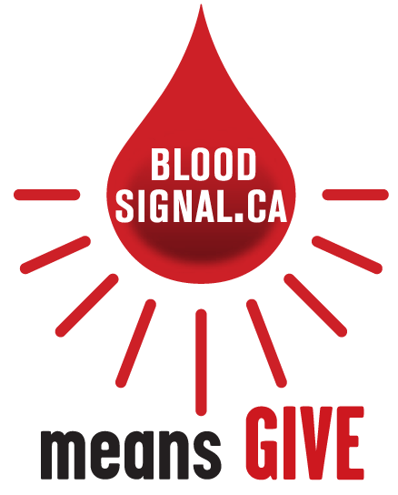 BloodSignal.ca means give