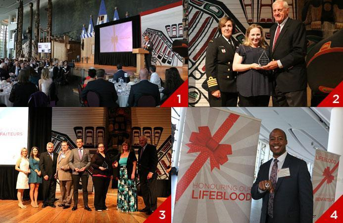 Honouring our Lifeblood event