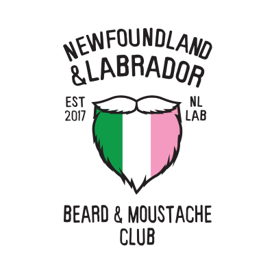 Newfoundland & Labrador Beard & Moustache Club National Honouring Canada's Lifeline 2019