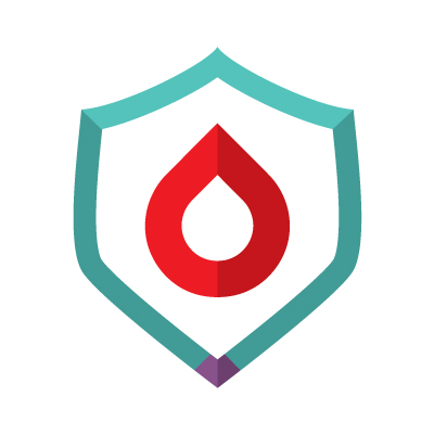 Plasma security & Sustainability icon - symbol