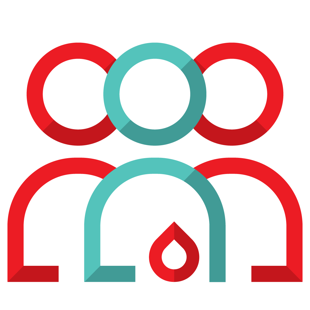 donation group icon - symbol