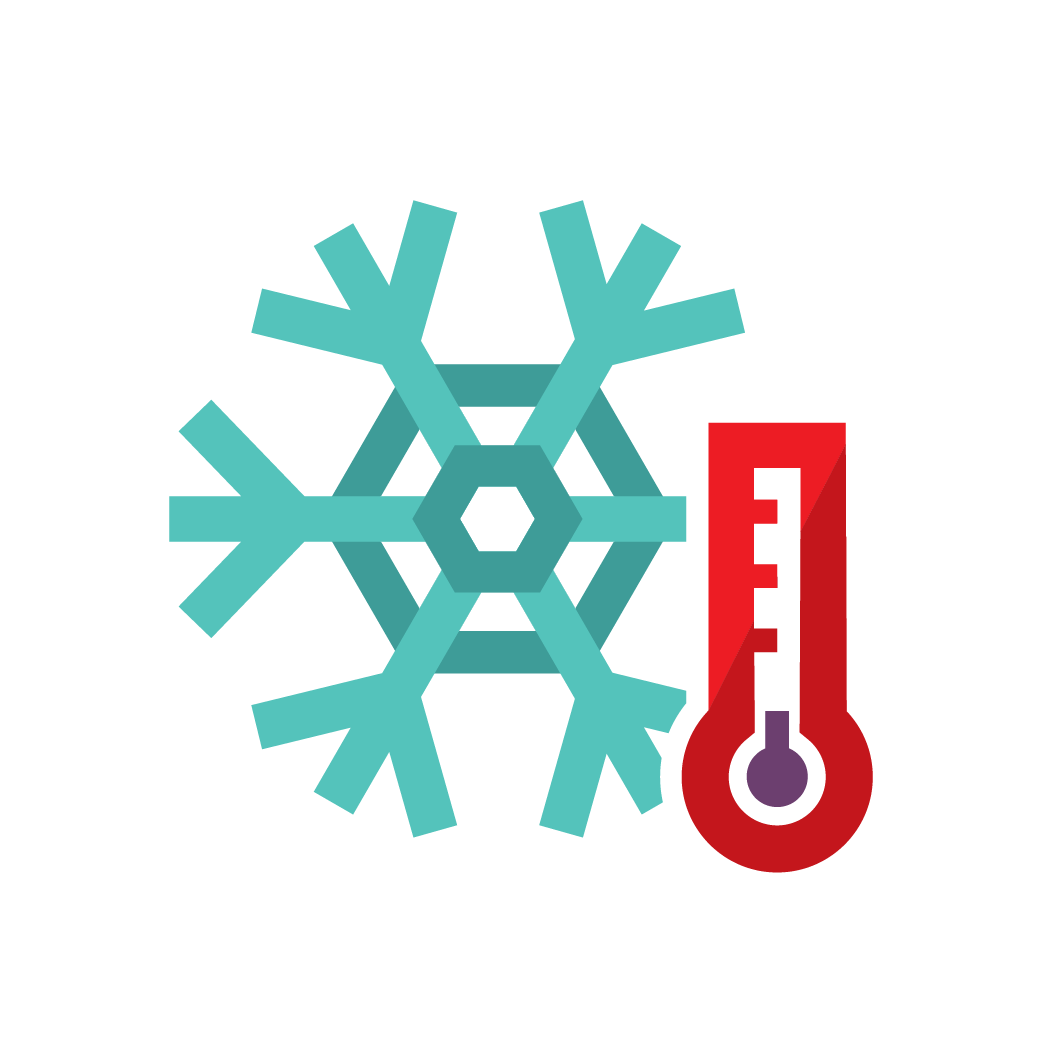 Freezing icon - symbol
