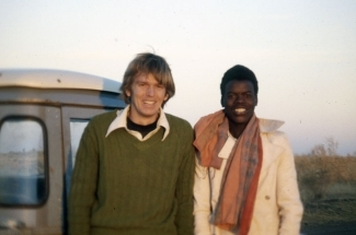 Dr. Mark Scott in the Peace Corps, Niger, 1980