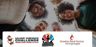 Canadian Blood Services is a recipient charity for the 2018 Calgary Corporate Challenge.