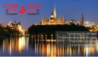 Poster ad for Canadian Society for Transfusion Medicine Conference (CSTM)