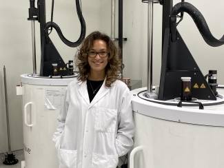 Image of Tammy Whitteker in the lab