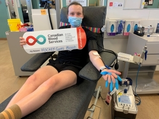 Micah Zandee-Hart rounds out this group of first time donors by donating in Victoria, BC.