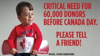 Critical-need-for-blood-donors-poster-with-Michael