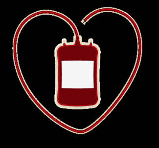 heart blood bag