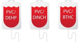 To explore alternative plasticizers, our researchers compared the quality of red blood cells stored in bags specifically designed for pediatric patients plasticized either with DEHP or two less toxic plasticizers called DINCH and BTHC.
