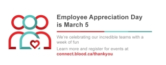 Employee Appreciation Day is March 5