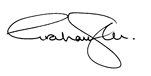 Dr. Graham Sher's signature