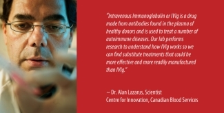 Dr. Alan Lazarus, Scientist, Centre for Innovation