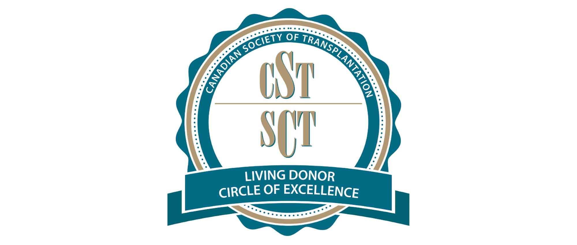 Logo for the Canadian Society of Transplantation's Circle of Excellence for employers who support employees to become living organ donors.