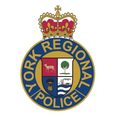 Logo of the York Regional Police with a crown at the top.